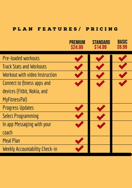 Plan Includes
